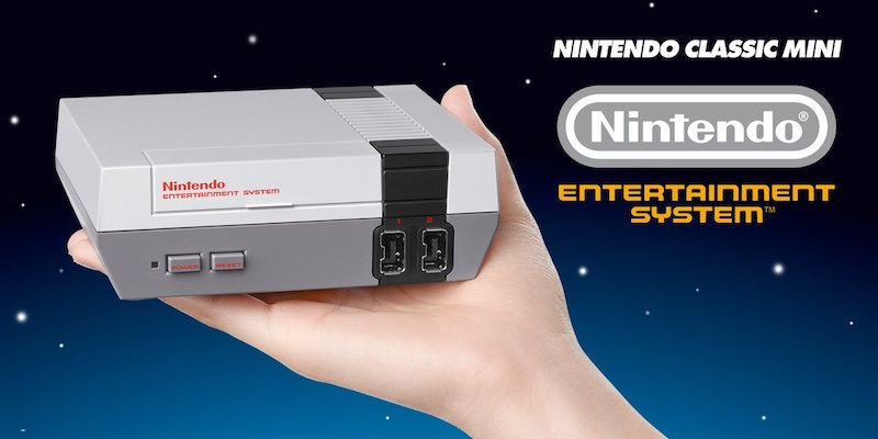 Nintendo Classic Mini disponibile su Amazon