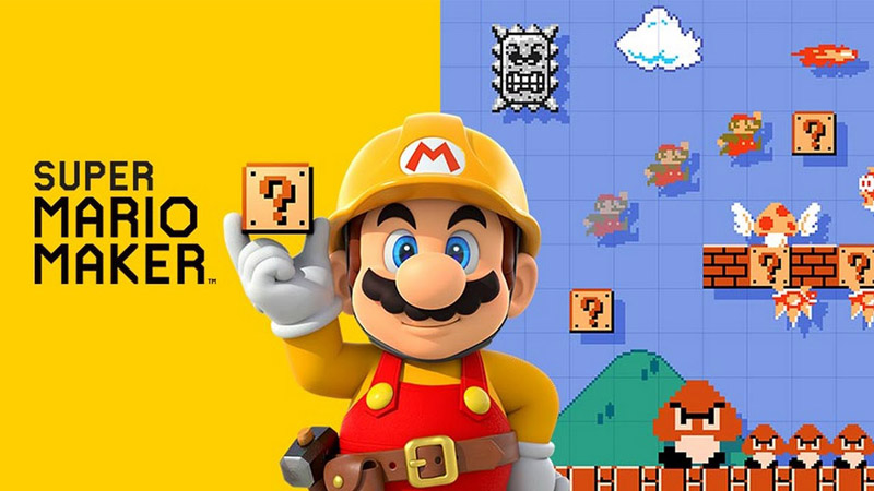 Nuovo trailer italiano di Super Mario Maker per 3DS