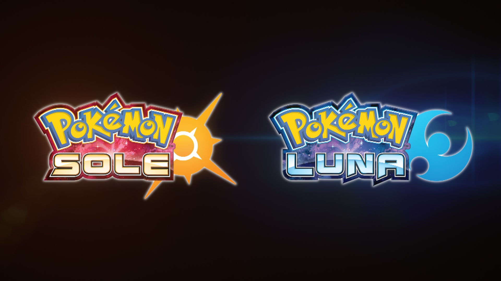 Pokemon Sole e Luna Logo