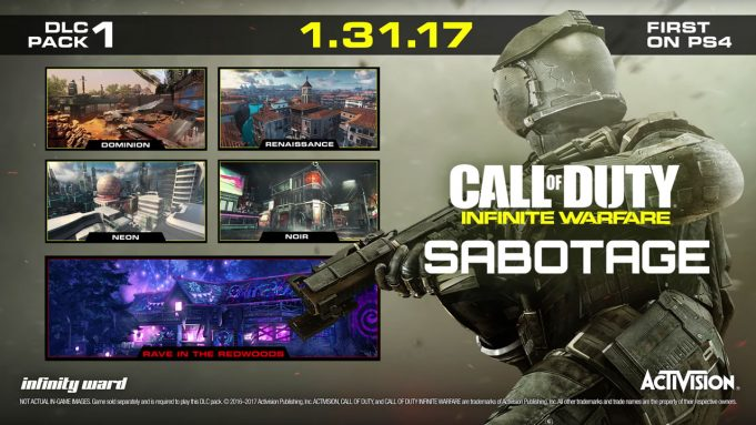 Call of Duty: Infinite Warfare   Sabotage DLC Pack Preview Trailer PS4