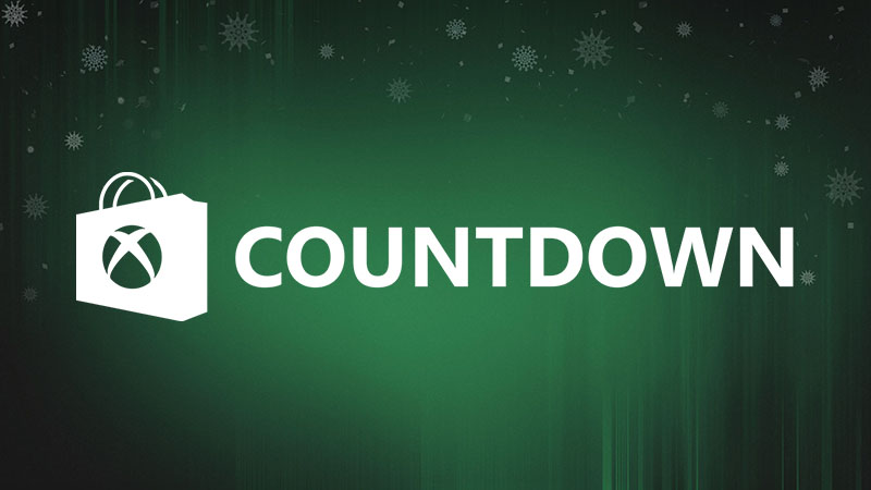 Xbox Countdown Evento shop mai visto prima!!!