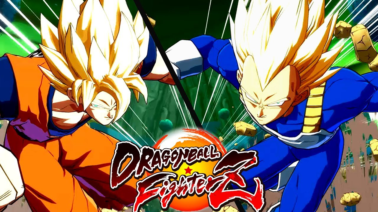 "Dragon Ball FighterZ: I trailer di Goku e Vegeta ""base"""