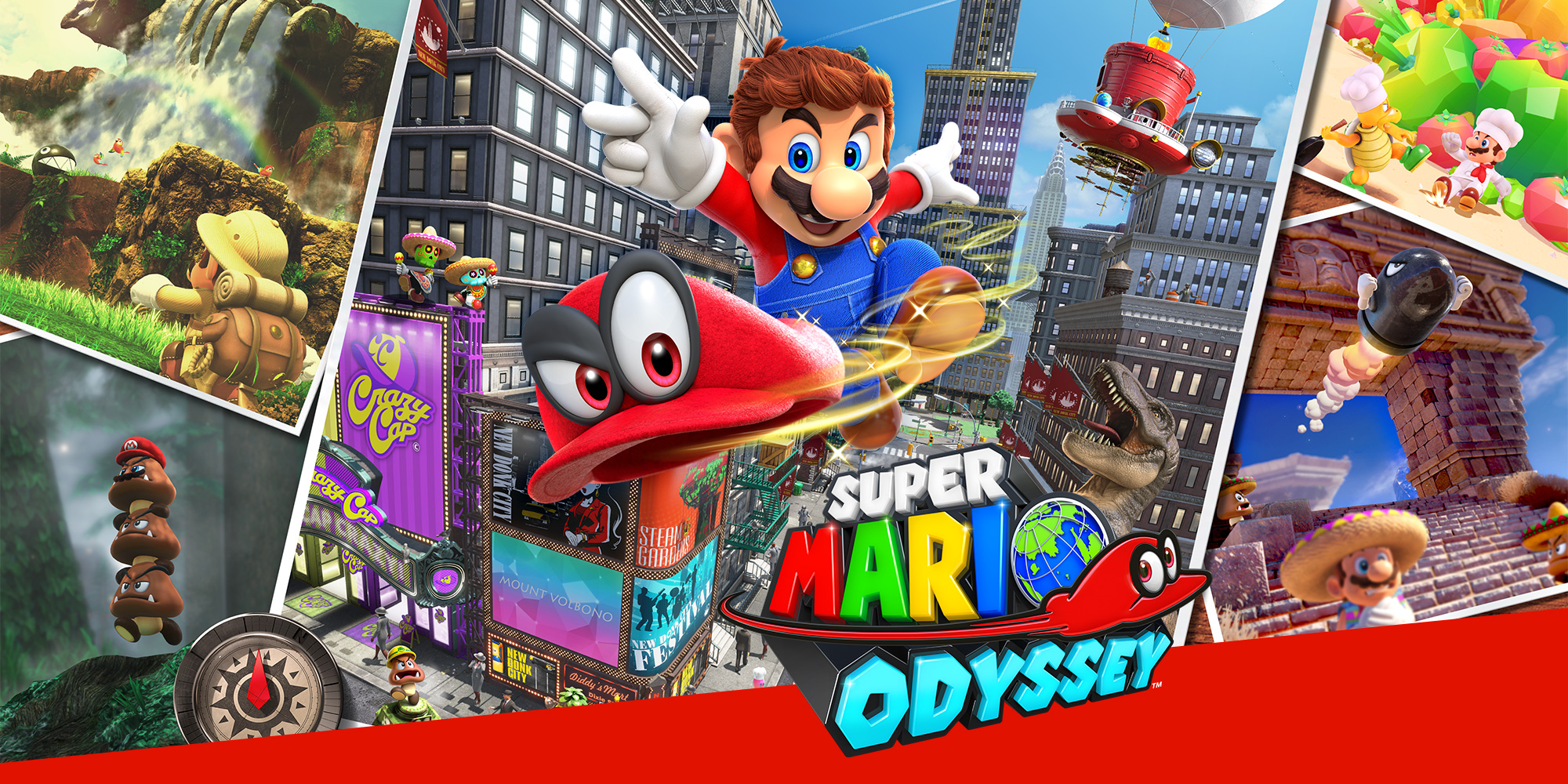 "Super Mario Odyssey – ""Let's go, it's me Mario!"""