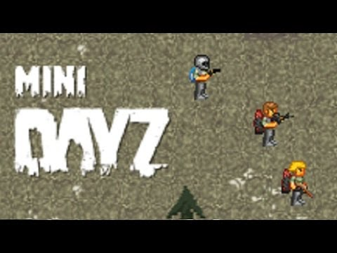 Mini DAYZ: i morti viventi in pixel art