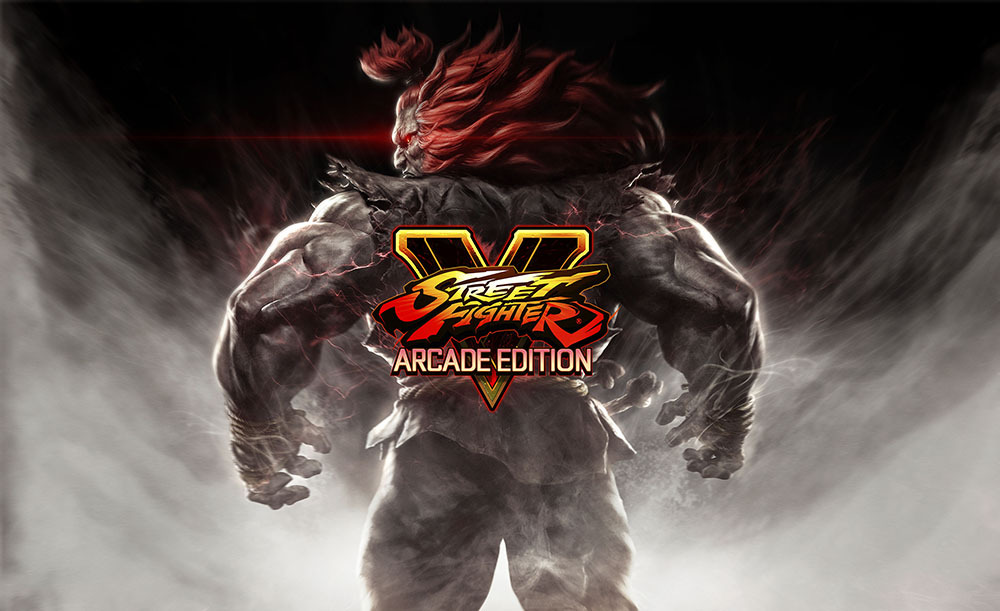 Street Fighter V Arcade Edition lancio
