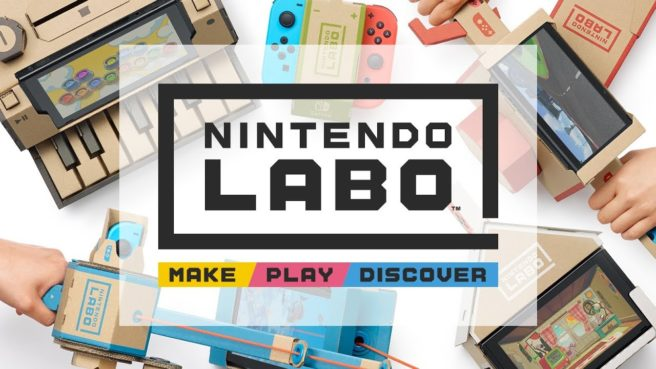 Nintendo Labo è già best seller su Amazon