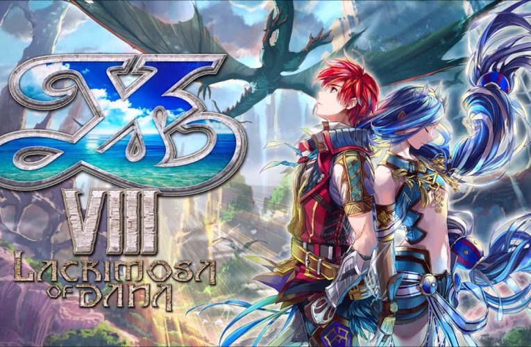 Il trailer di lancio di Ys VIII: Lacrimosa of Dana su Switch