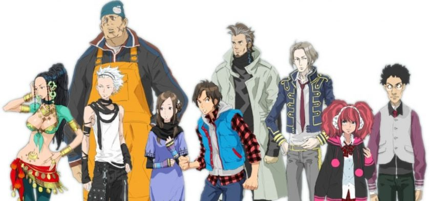 Zero Escape - Personaggi