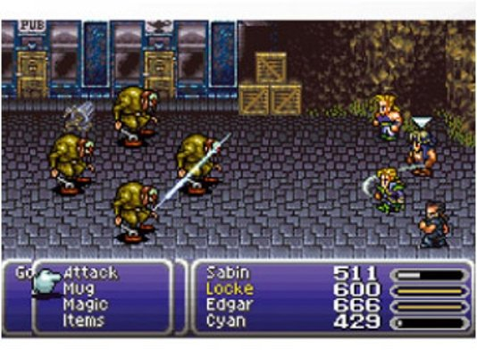 Final Fantasy VI Gameplay
