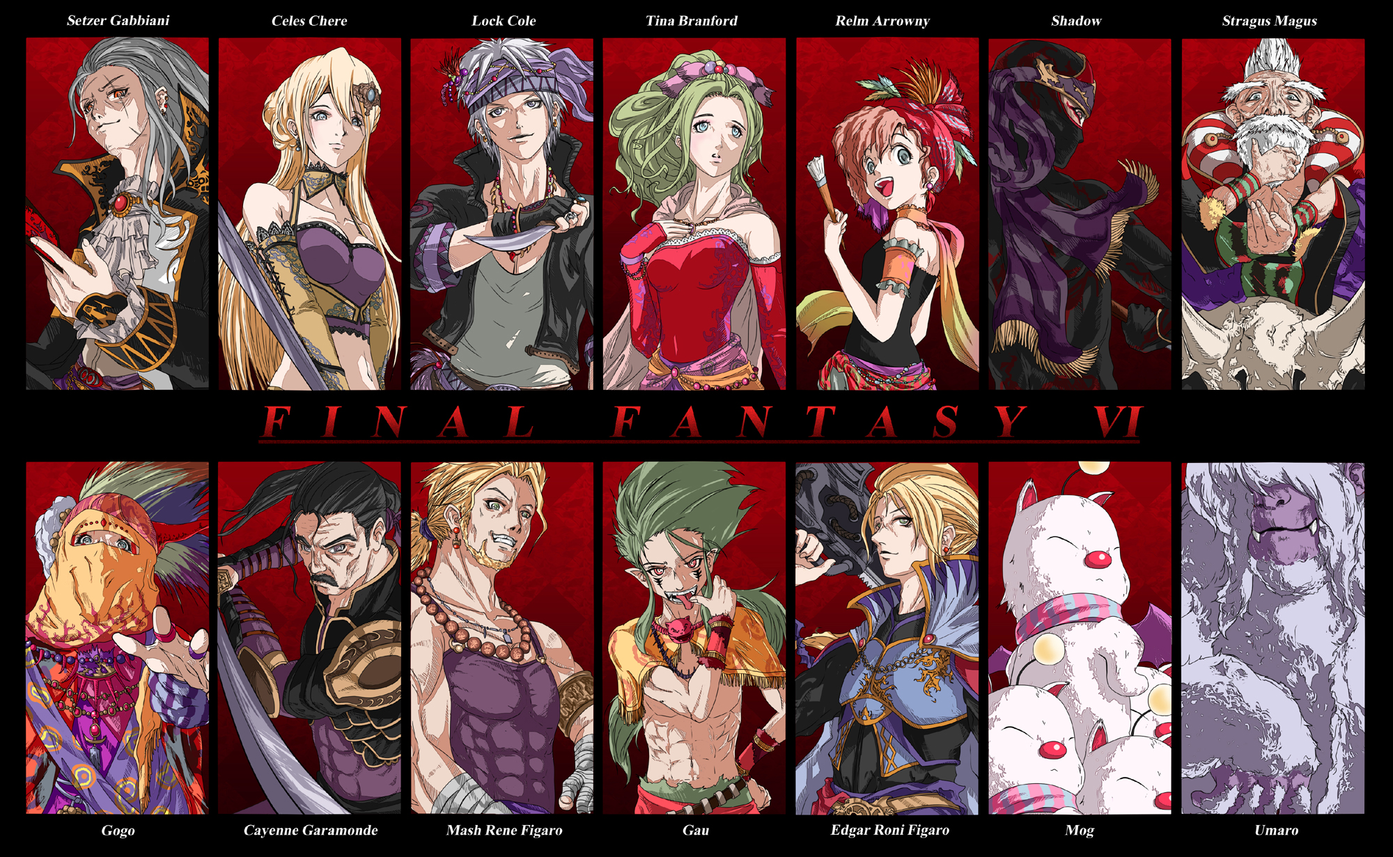 Final Fantasy VI Personaggi