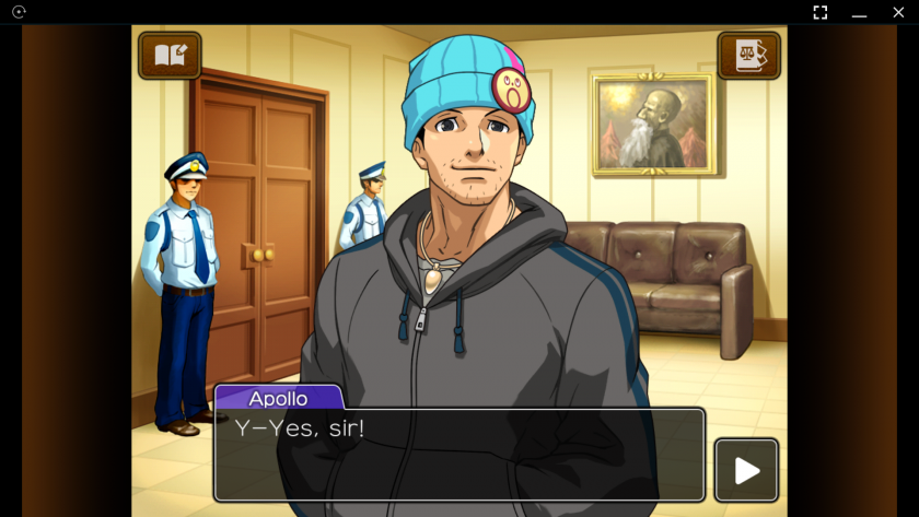 Apollo Justice Gameplay
