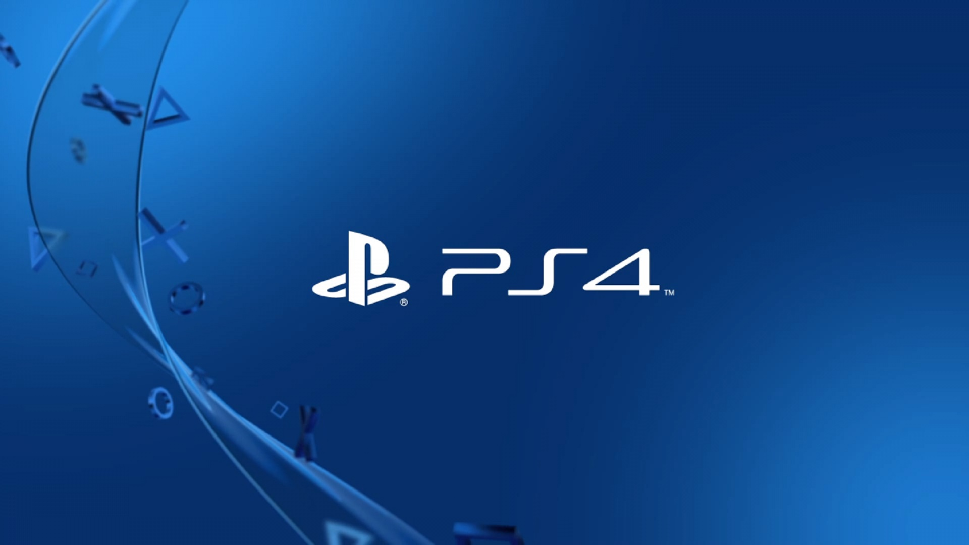 Sony PlayStation 4 Logo / PS4 Logo