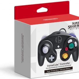 GameCube controller a tema Super Smash Bros. Ultimate