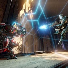 Quake Champions, The Molten Falls ora disponibile