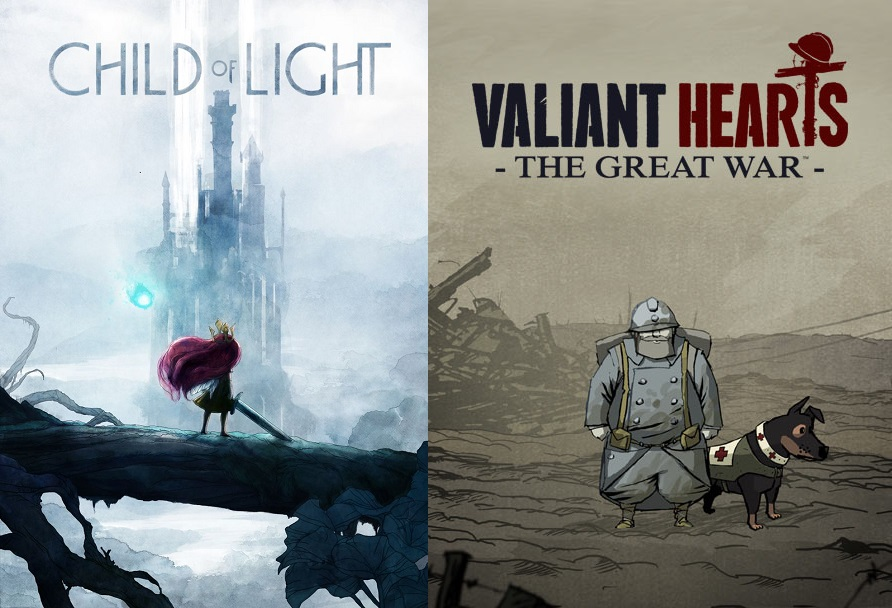 Child Of Light e Valiant Hearts