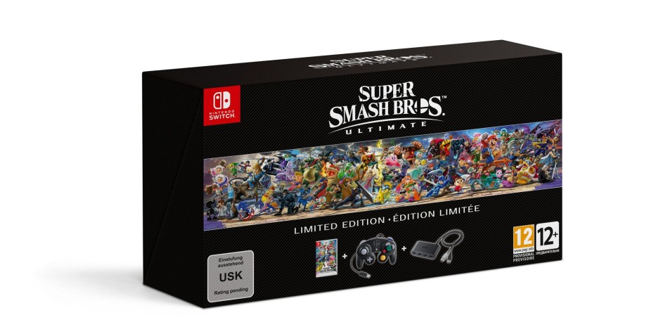 super smash bros unlimited limited edition