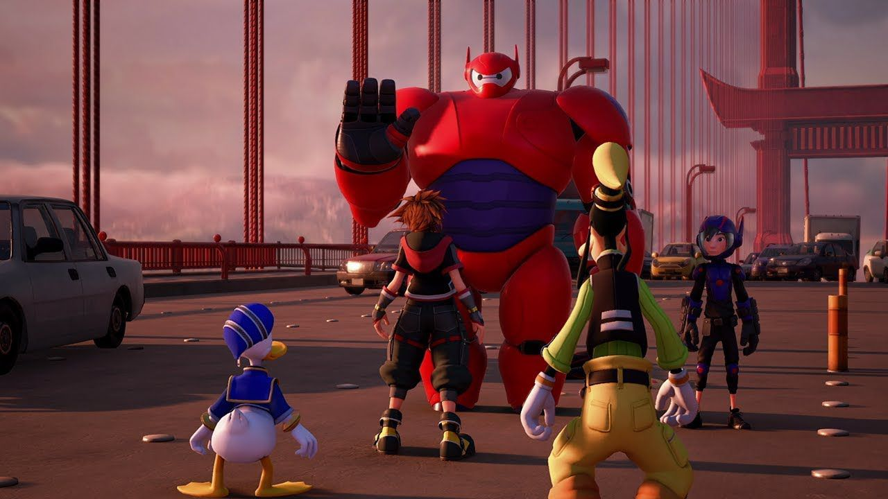 Kingdom Hearts III big hero 6