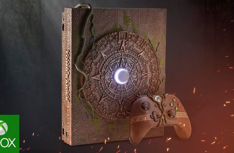 Xbox One X a tema Shadow of the Tomb Raider