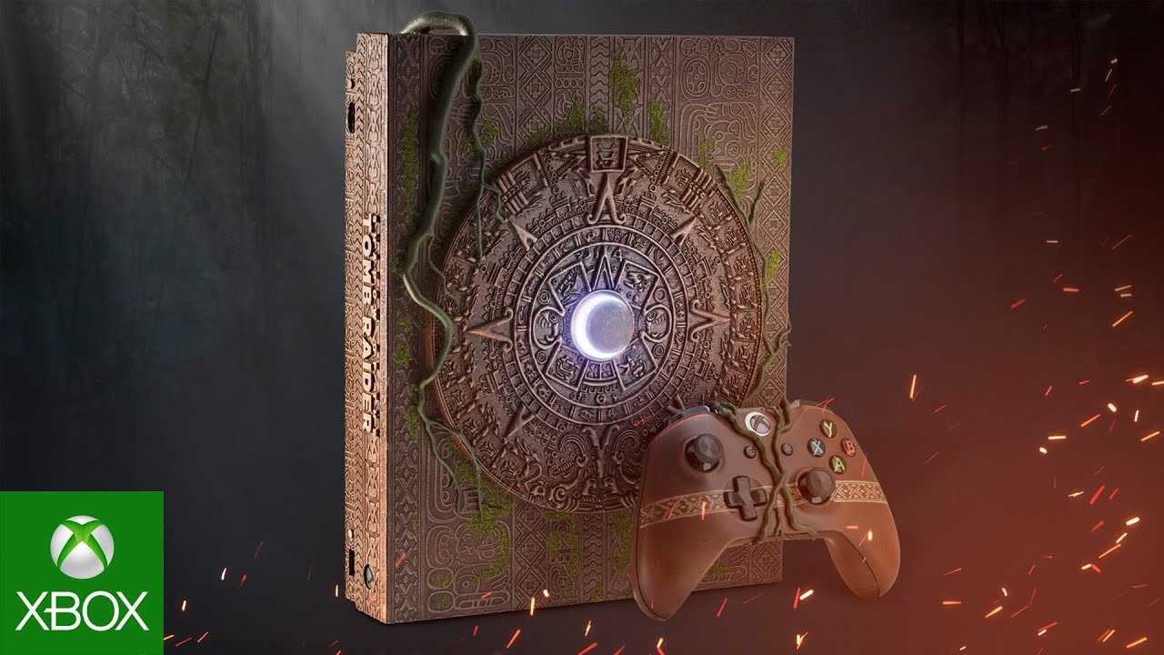 Xbox One X Shadow of the Tomb Raider