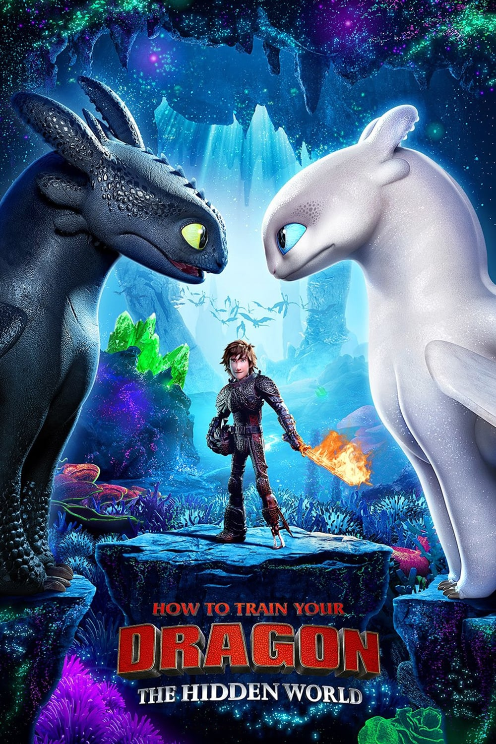 "Poster for the movie ""Dragon Trainer 3"""