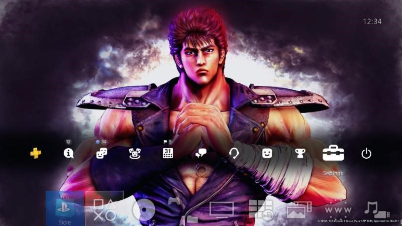 Fist of the North Star Lost Paradise Tema PS4 01