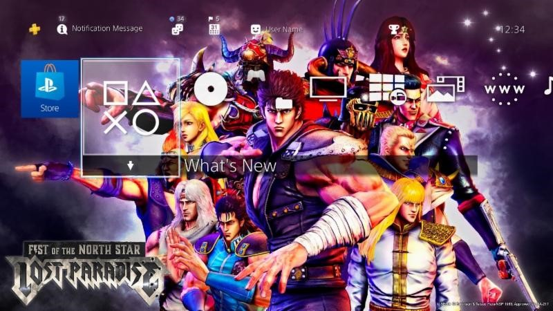 Fist of the North Star Lost Paradise Tema PS4 02