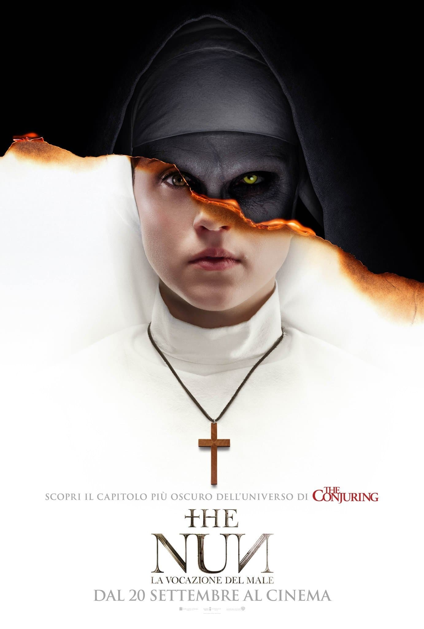 "Poster for the movie ""The Nun - La vocazione del male"""
