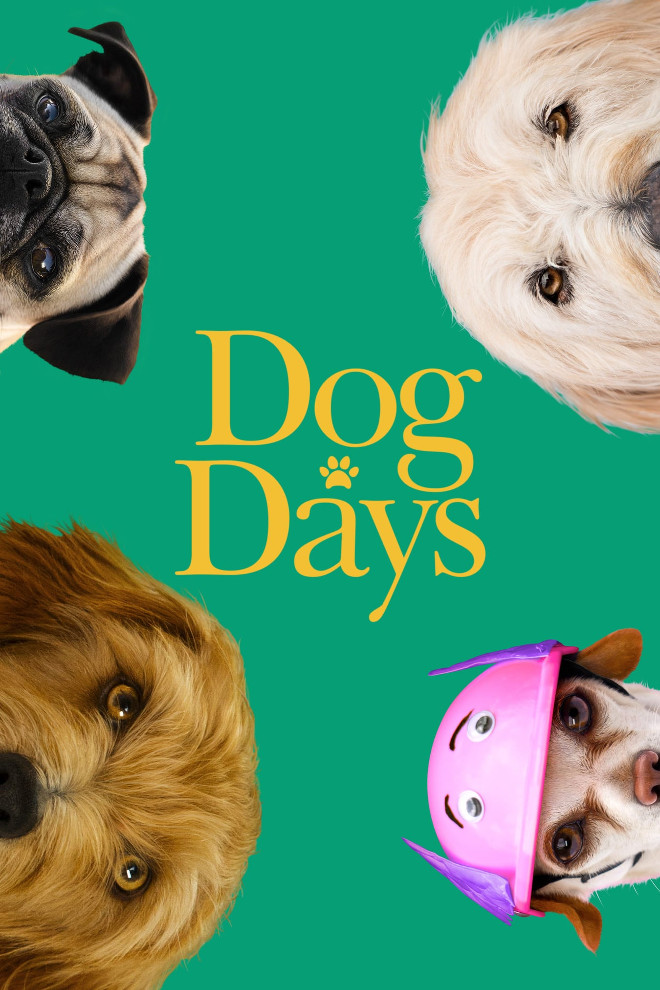 "Poster for the movie ""Dog Days"""