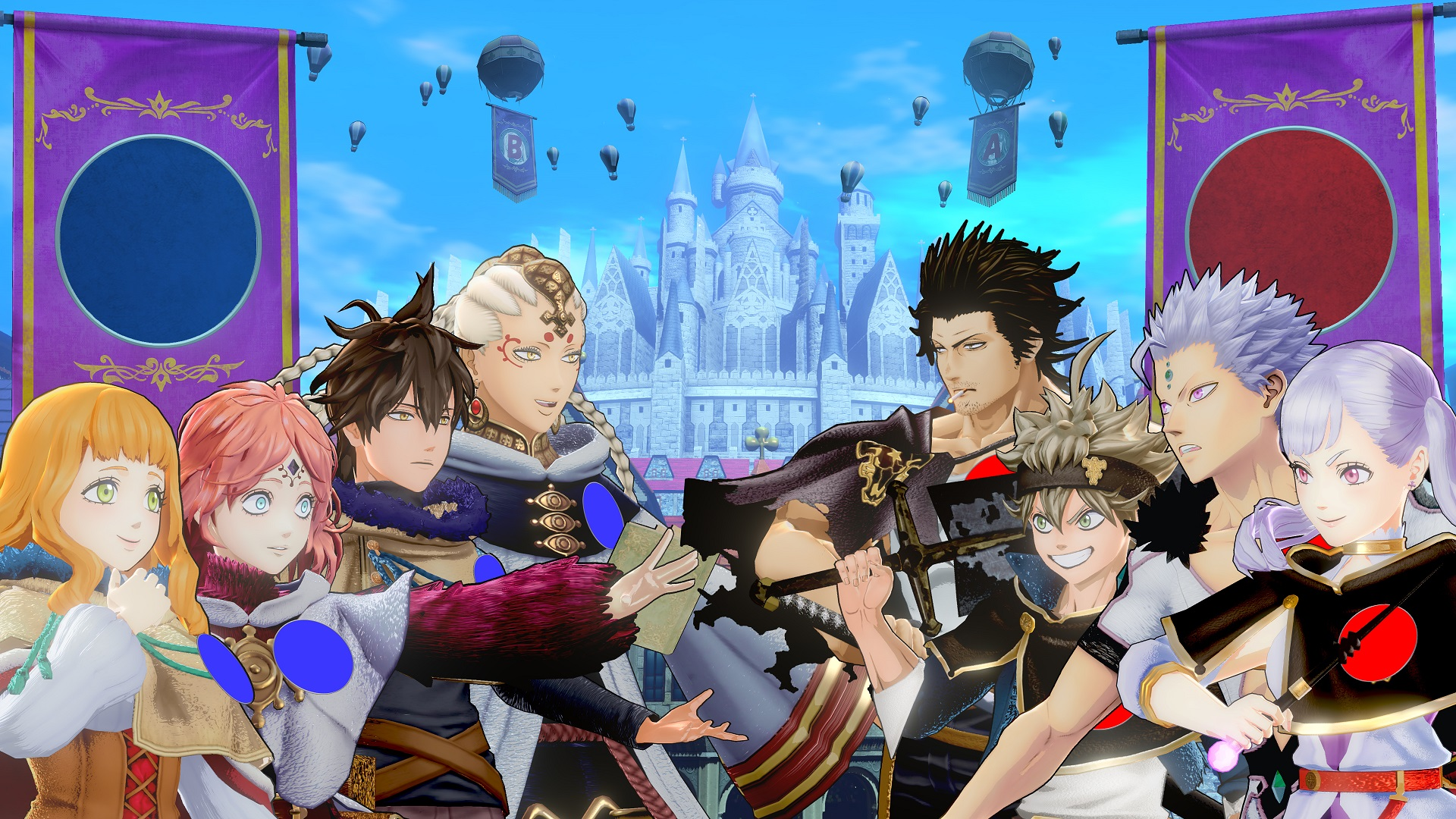 Black Clover Quartet Knights Battaglia dell'Alleanza