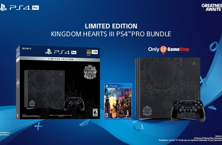 PS4 Pro e Kingdom Hearts III insieme per un bundle magico