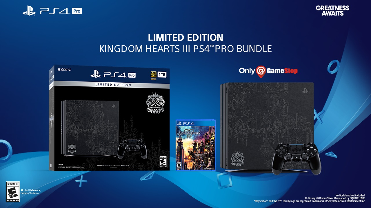 PS4 Pro Kingdom Hearts III Bundle