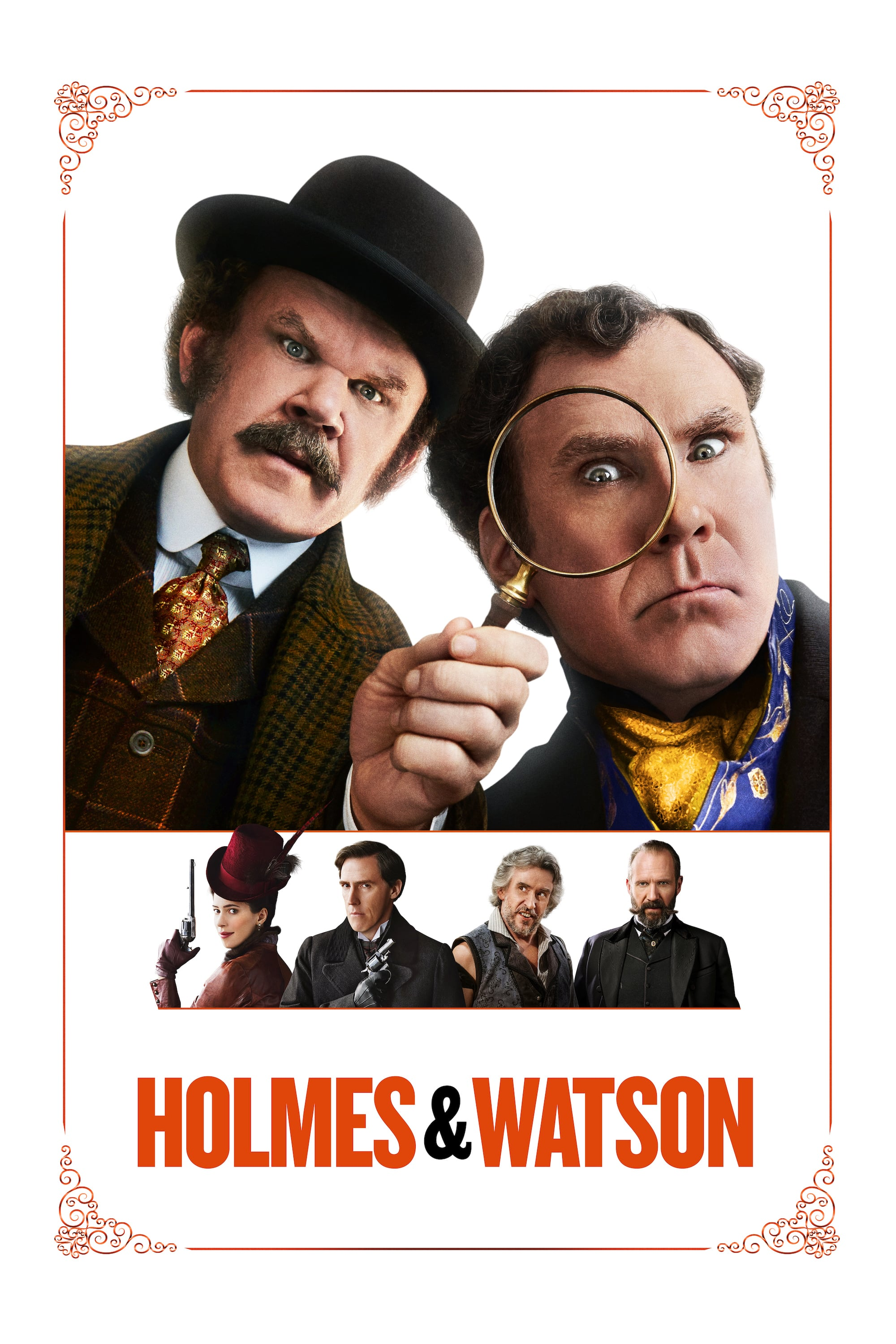 "Poster for the movie ""Holmes & Watson"""