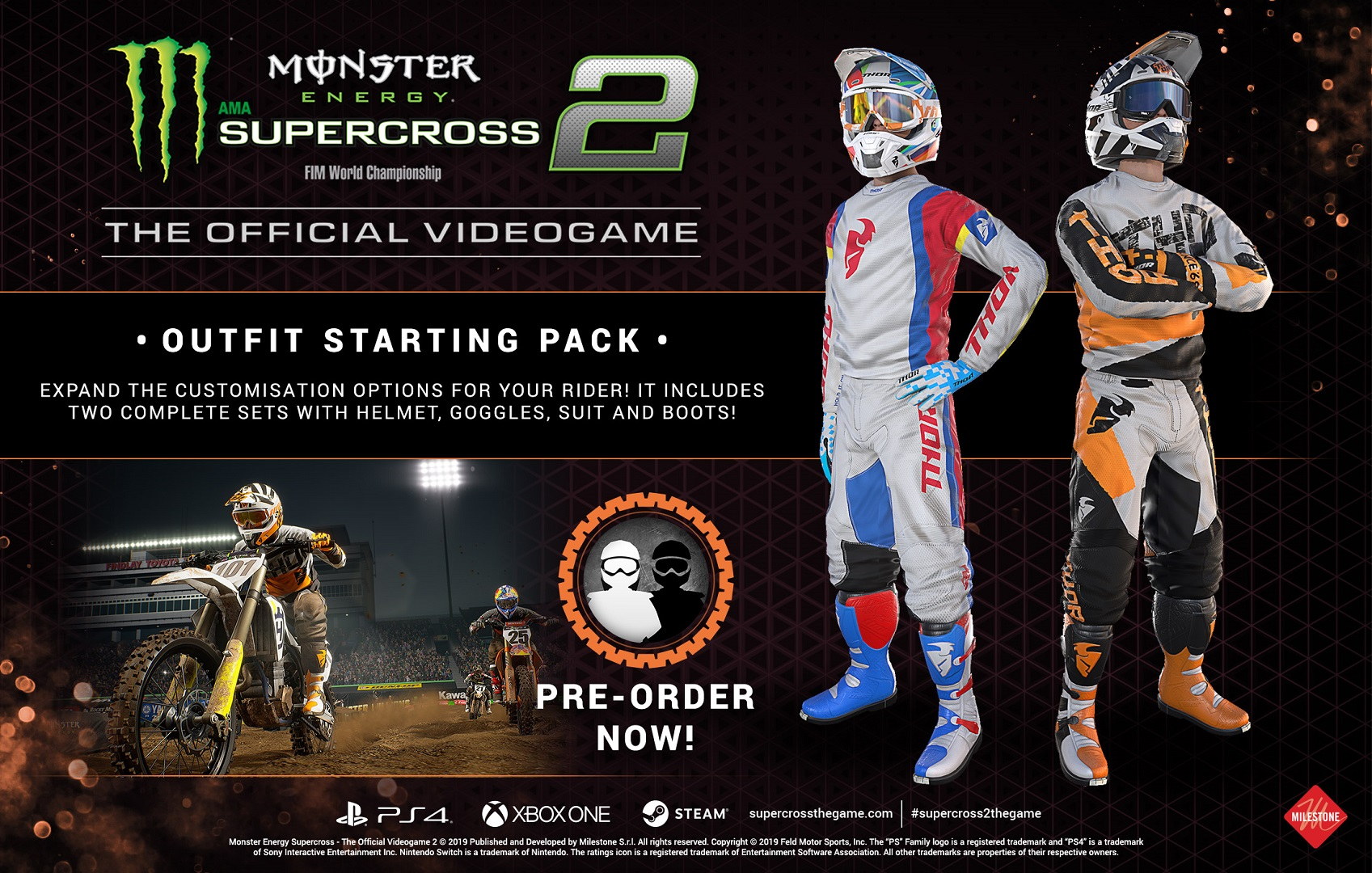Monster Energy Supercross 2 - Outfit Starting Pack