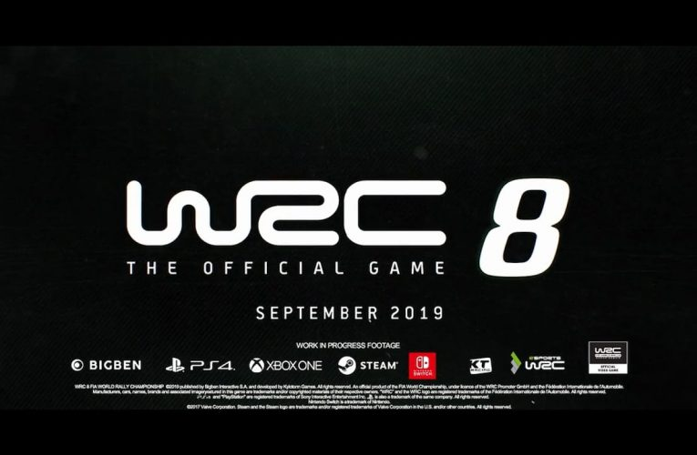 WRC 8: The Official Game è disponibile ora