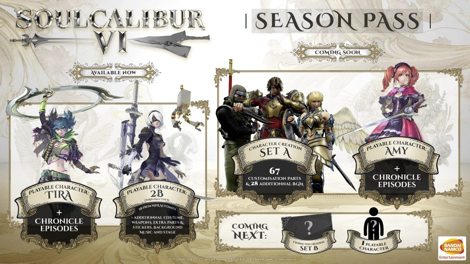 Soul Calibur VI Season Pass