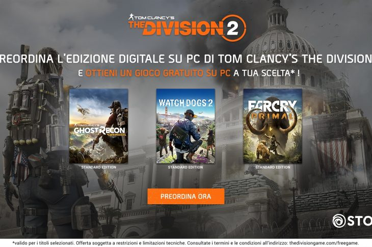 The Division 2 Preorder PC