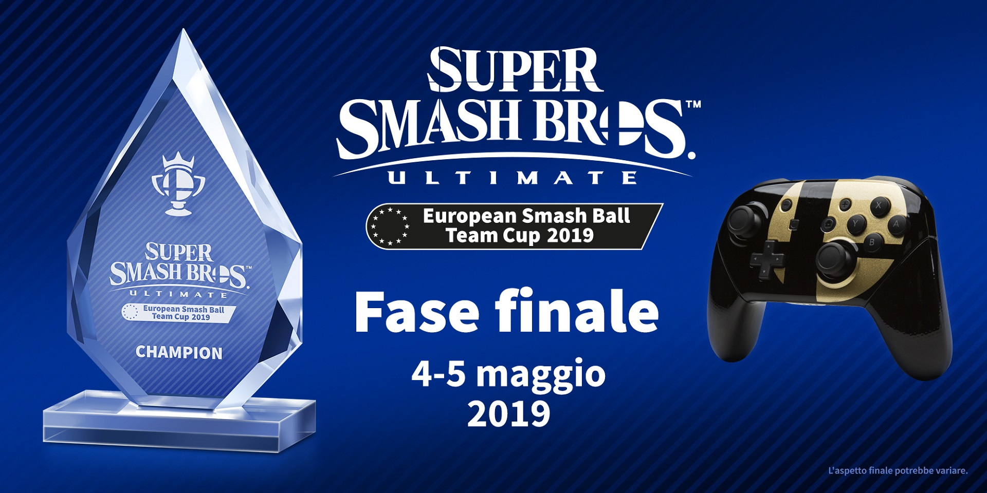 Super Smash Bros Ultimate European Smash Ball Team Cup 2019