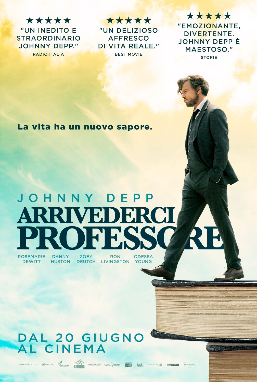 Arrivederci professore, Johnny Depp di nuovo al cinema 3