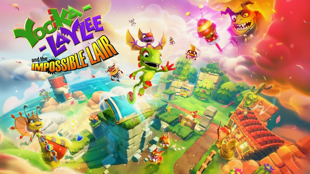 Yooka-Laylee and the impossible Lair Annunciato! 8