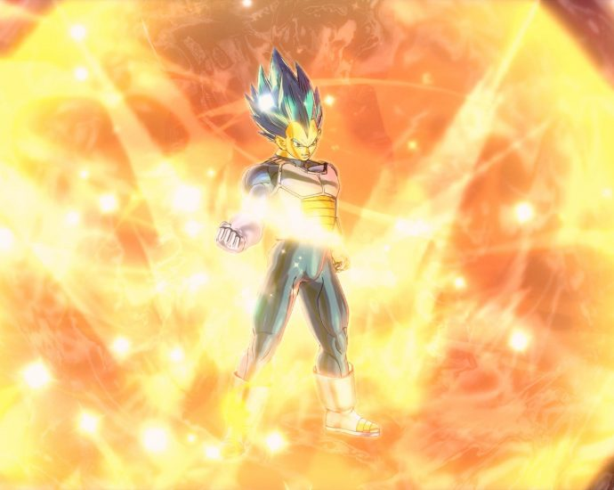 Dragon Ball Xenoverse 2 Vegeta SSGSS