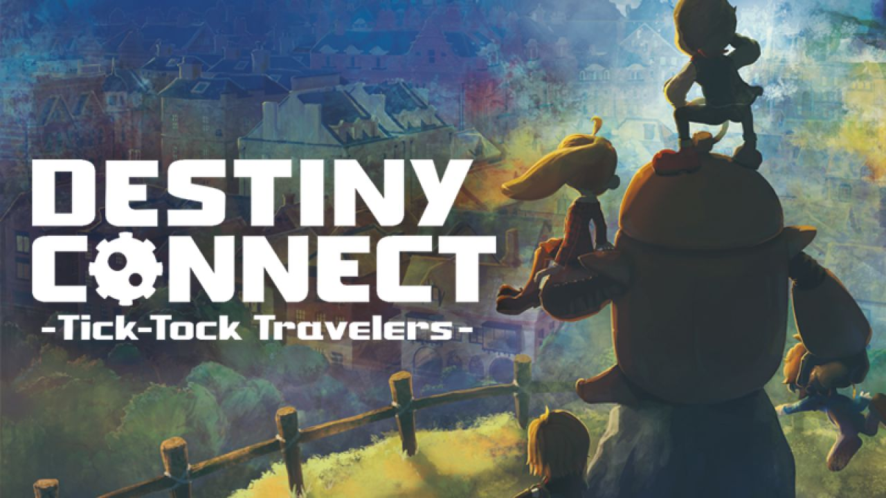 Destiny Connect: Tick Tock Travellers Key Art
