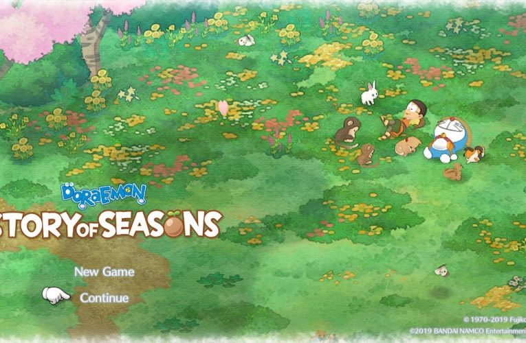 Doraemon Story of Seasons: Disponibile ora