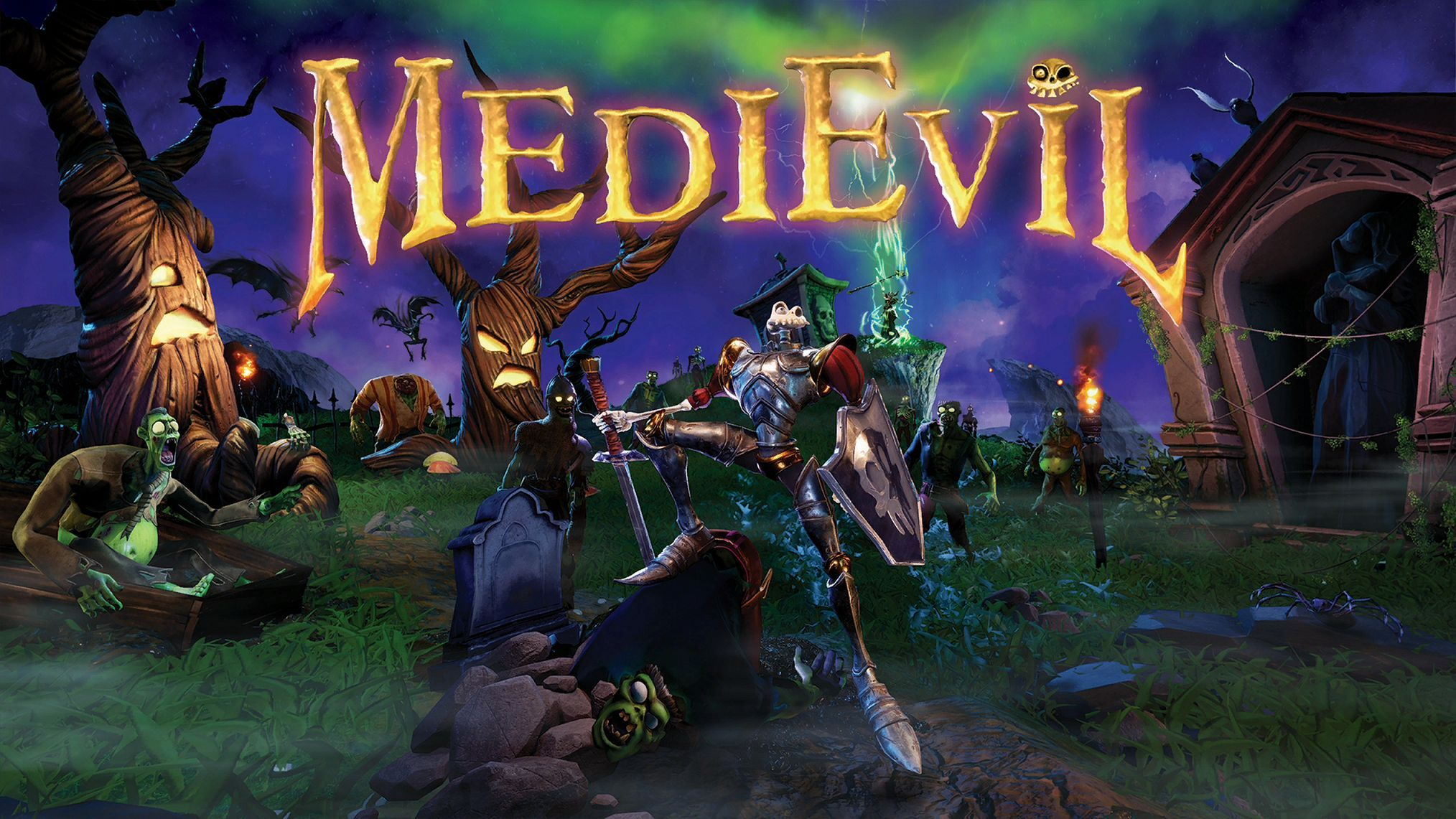 MediEvil Key Art