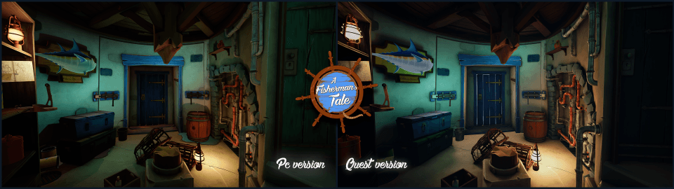 A Fishermans Tale Oculus Quest Comparison Screenshot 2