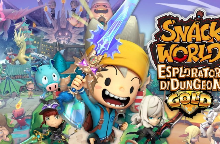 SNACK WORLD:ESPLORATORI DI DUNGEON GOLD