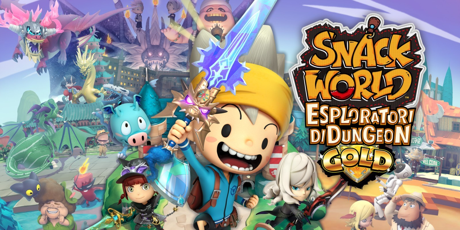 SNACK WORLD:ESPLORATORI DI DUNGEON