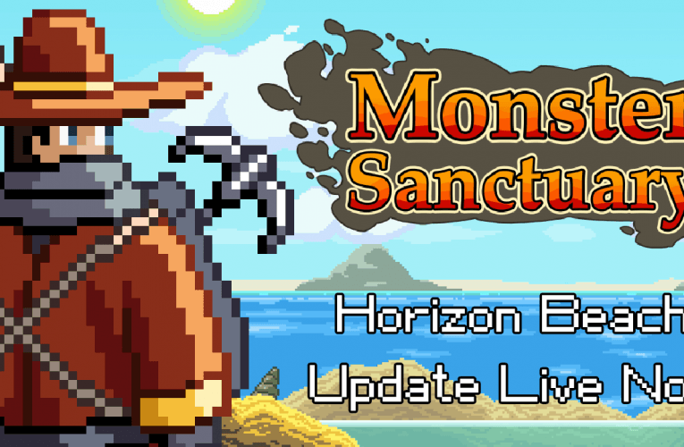 Monster Sanctuary: disponibile l'aggiornamento Horizon Beach