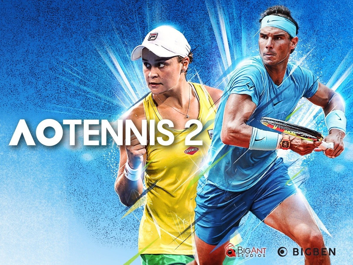 AO Tennis 2 Key Art