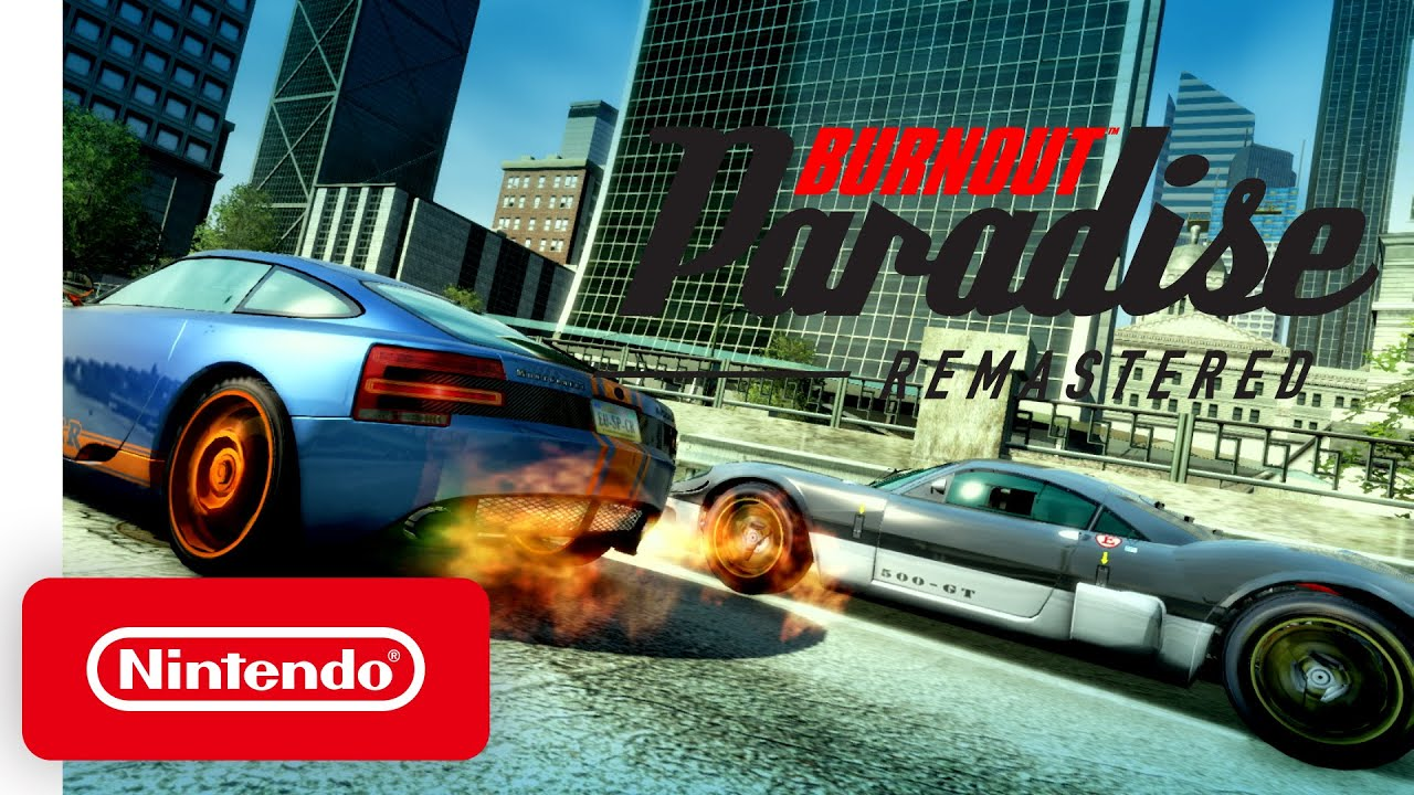 Burnout Paradise Remastered quest'estate su Switch