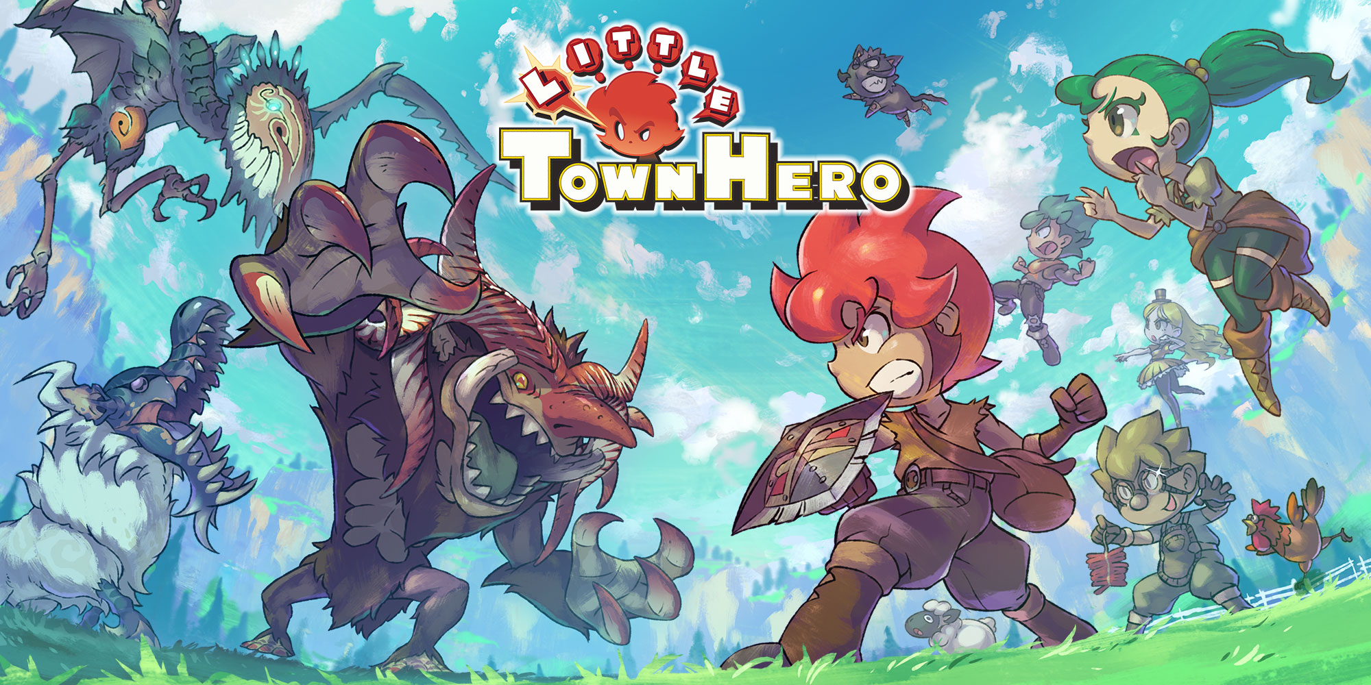 Little Town Hero: Le basi del gameplay